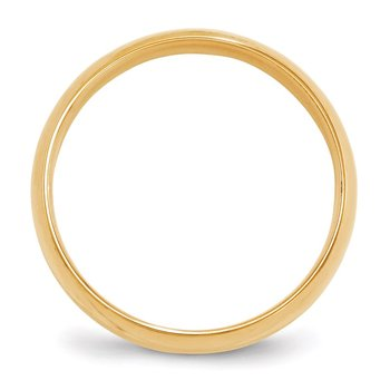 14KY 6mm LTW Comfort Fit Band Size 10