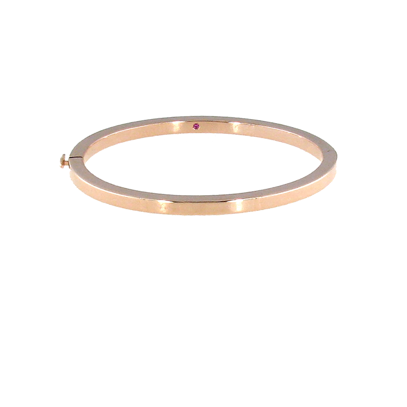 Roberto Coin  #26564 Of 18Kt Gold Oval Bangle