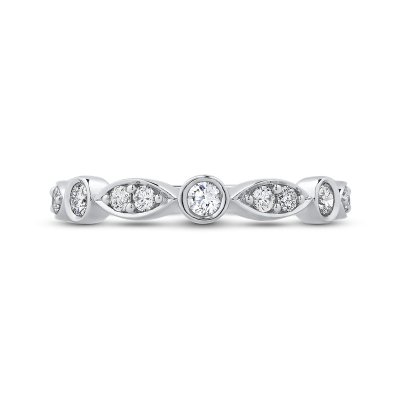 Essentials 10K White Gold 1/2 Ct Diamond Fashion Ring