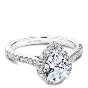 Noam Carver Fancy Engagement Ring B169-01A
