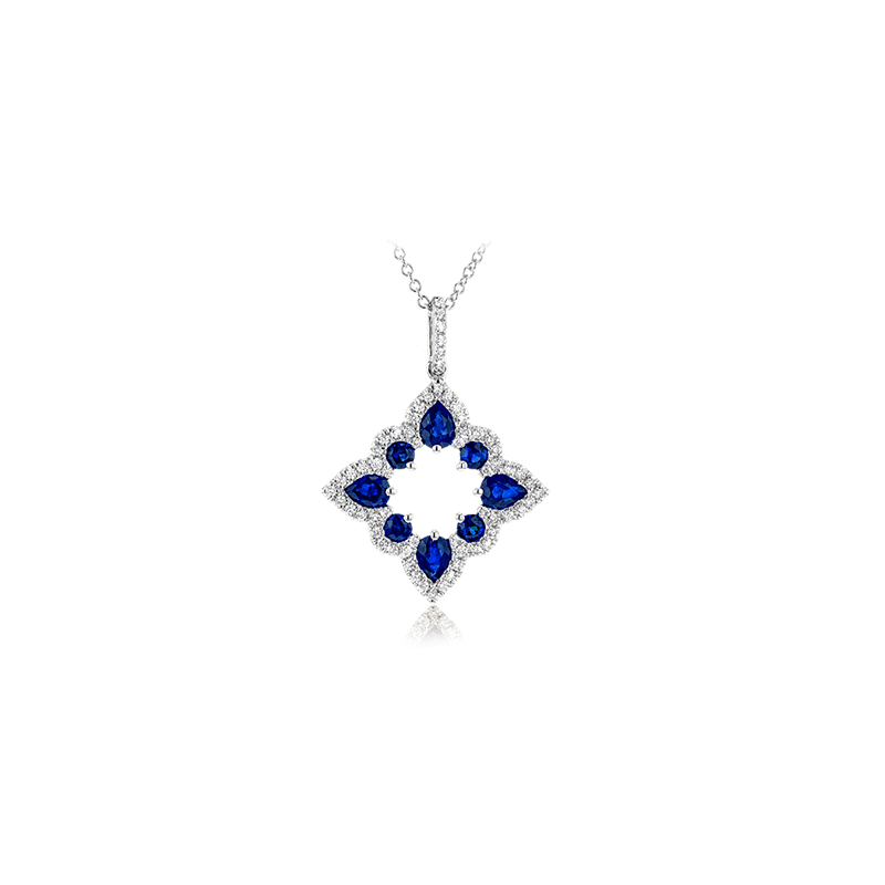 Zeghani ZP921 COLOR PENDANT