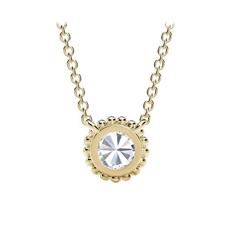 Forevermark The Forevermark Tribute™ Collection Round Beaded Pendant