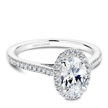 Noam Carver Fancy Engagement Ring B094-03A