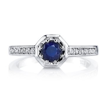 Diamond Engagement Ring 0.14 ct tw