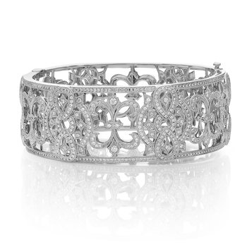 White Gold & Diamond Chadwick Bracelet