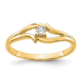 14k AAA Diamond ring