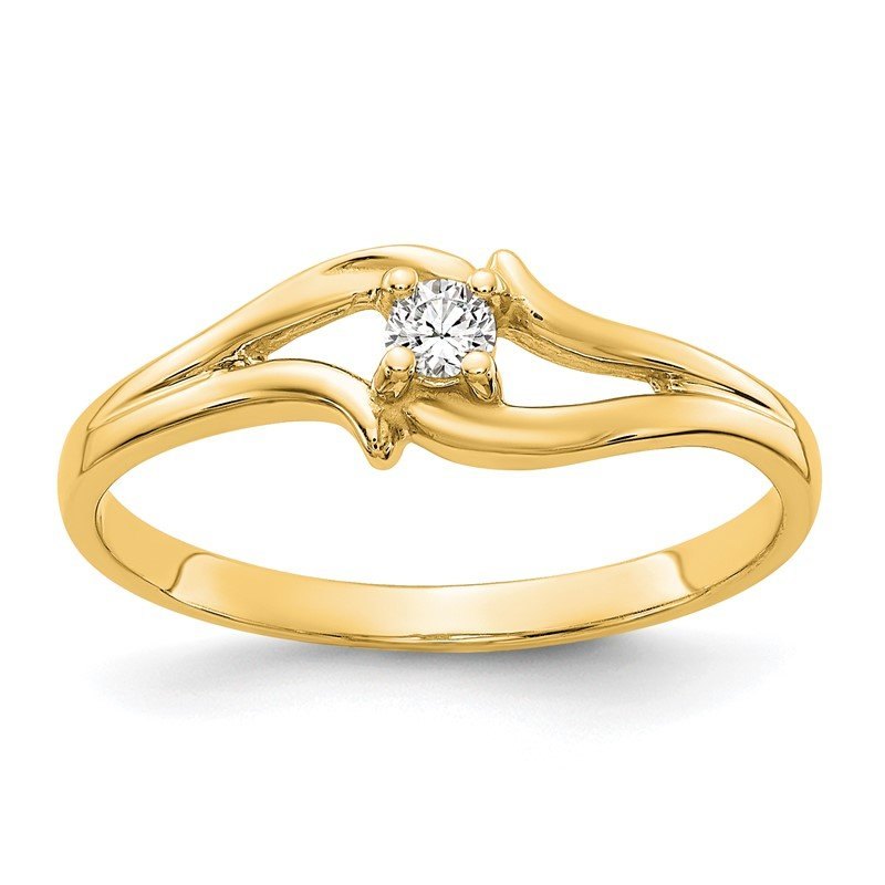 Quality Gold 14k AAA Diamond ring