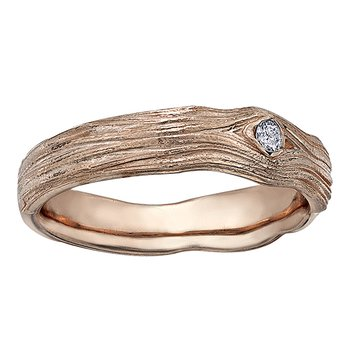 Maple Leaf Diamonds™ Wedding Band