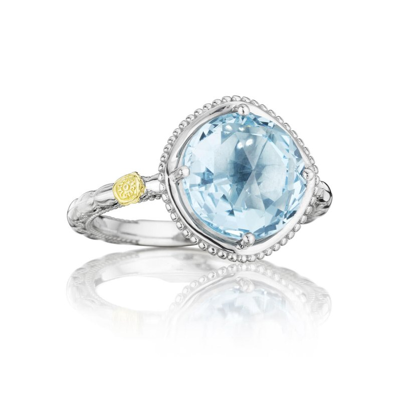 Tacori Fashion Bold Simply Gem Ring featuring Sky Blue Topaz