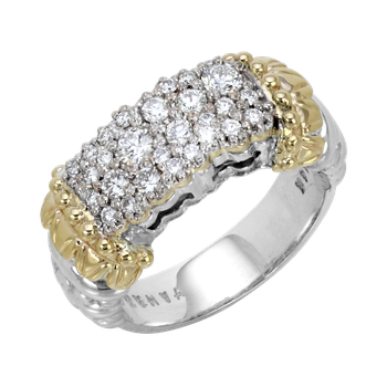 Multi-Pavé ring