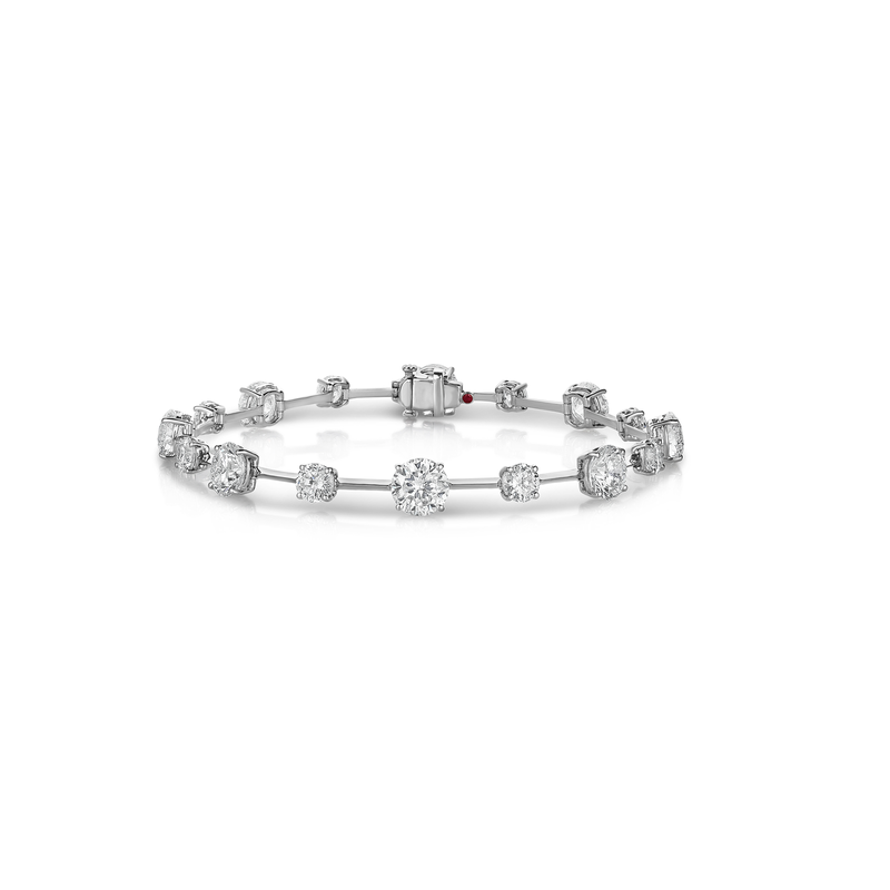 Roberto Coin Cento Floating Diamond Bracelet