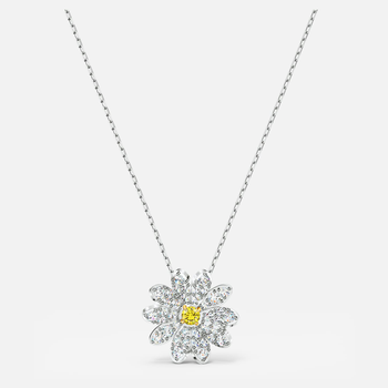 Eternal Flower Pendant, Yellow, Mixed metal finish