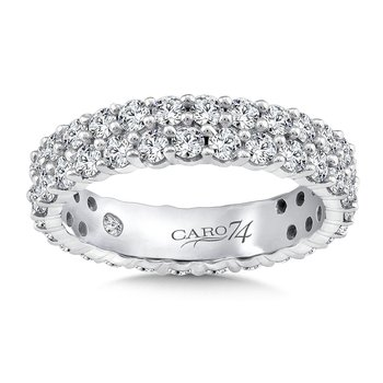 Eternity Band (Size 6.5) in 14K White Gold (2.19ct. tw.)