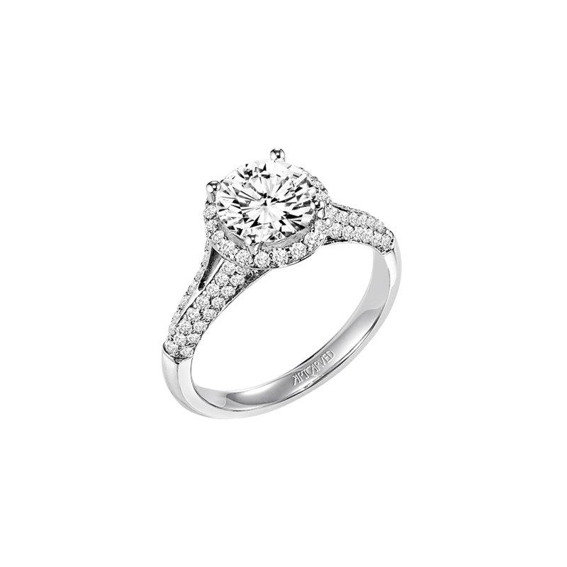 Artcarved 31 V587era E: Delores Jewelers: ArtCarved 31-V328GRW-E