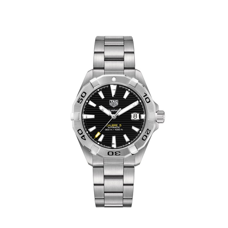 Tag Heuer Aquaracer 300M Steel Bezel Calibre 5 Automatic Watch