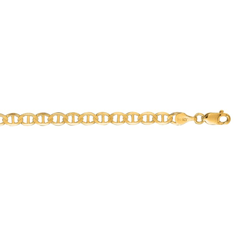 Royal Chain 14K Gold 4.5mm Mariner Chain