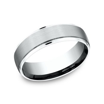 Comfort-fit Design Ring