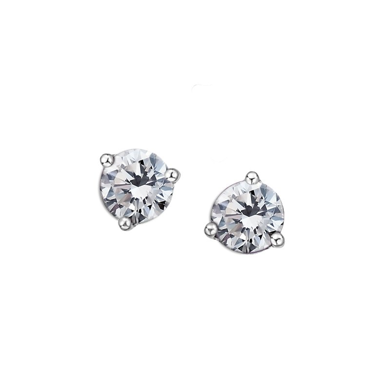 D of D Signature White Topaz Earrings