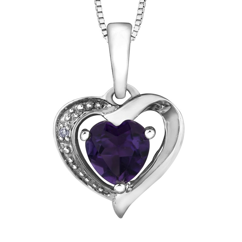 Forever Jewellery Amethyst Pendant