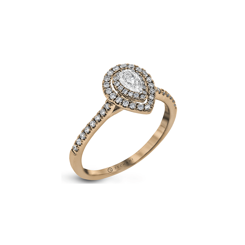 Zeghani ZR1870-R ENGAGEMENT RING