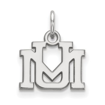 Sterling Silver University of Montana NCAA Pendant