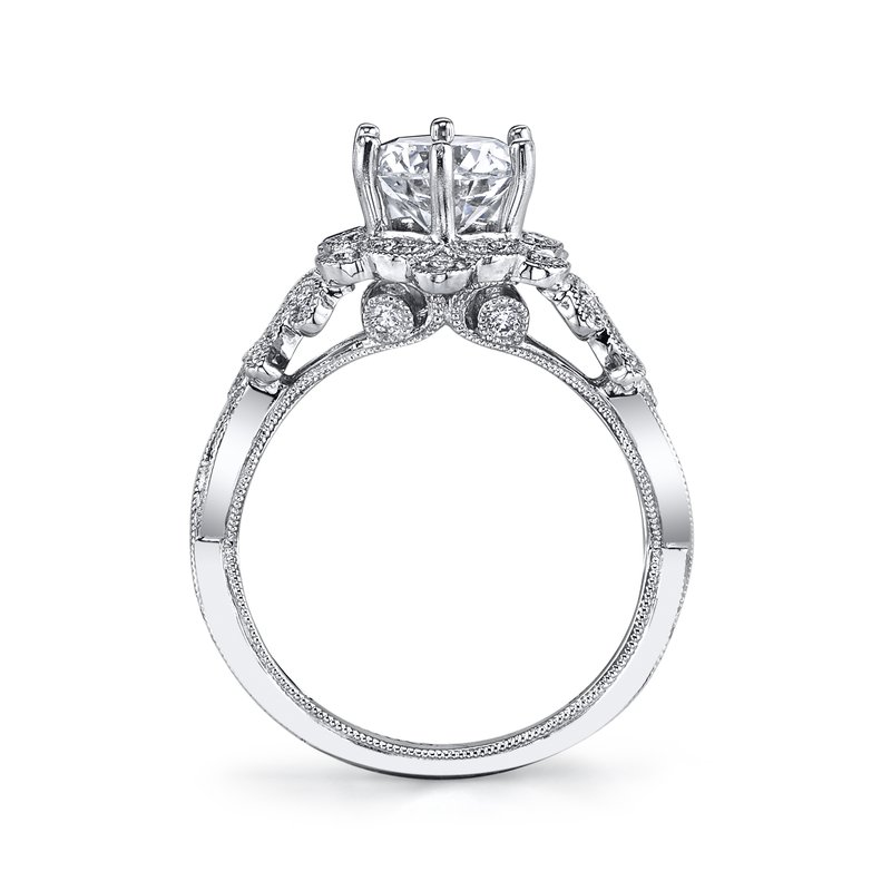MARS Jewelry MARS 26594 Diamond Engagement Ring 0.38 Ctw.