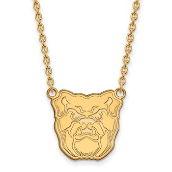 Gold-Plated Sterling Silver Butler University NCAA Necklace