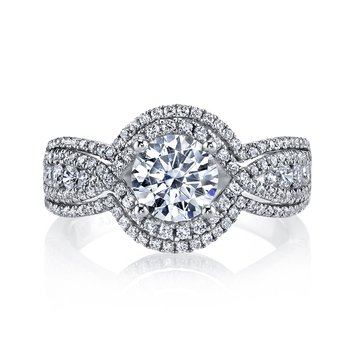 Diamond Engagement Ring 0.76 ct tw