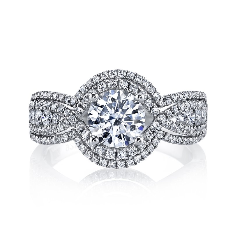 MARS Jewelry Diamond Engagement Ring 0.76 ct tw
