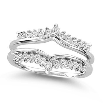 14K 0.50Ct Dia. Ring Guard