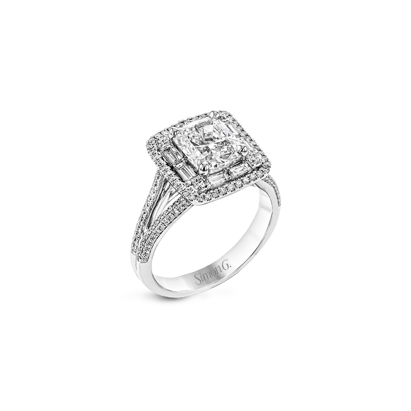 Simon G MR2784-A ENGAGEMENT RING