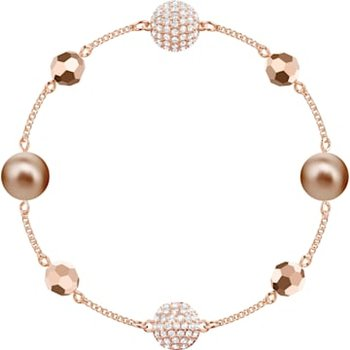 Swarovski Remix Collection Strand, Multi-colored, Rose-gold tone plated