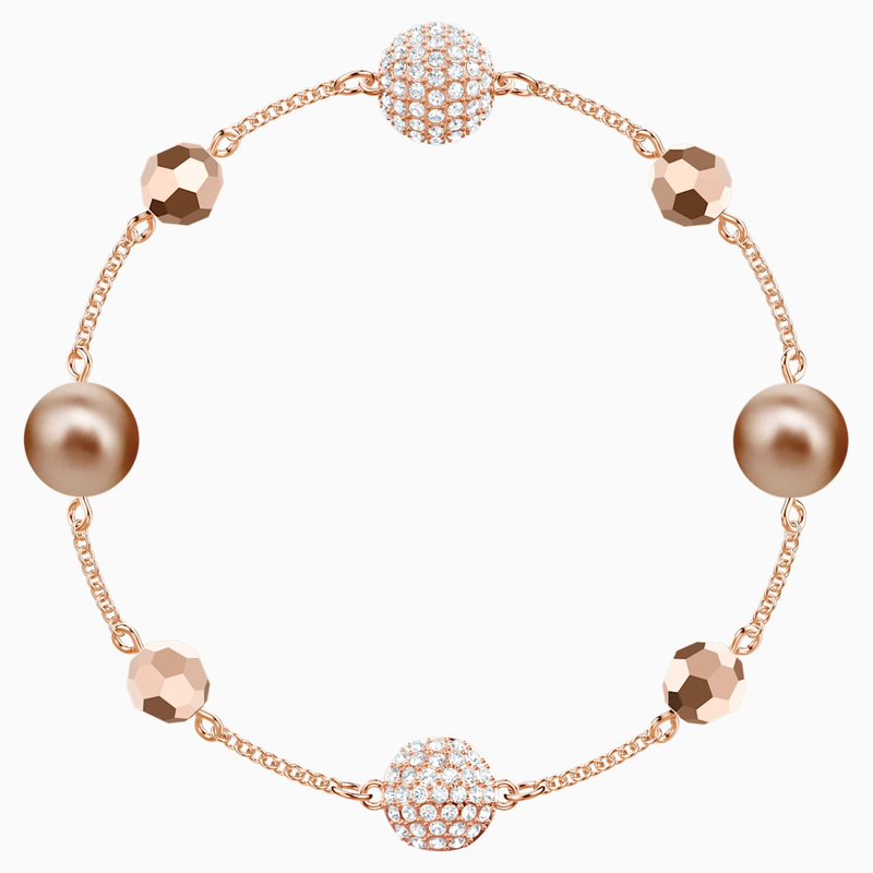 Swarovski Swarovski Remix Collection Strand, Multi-colored, Rose-gold tone plated