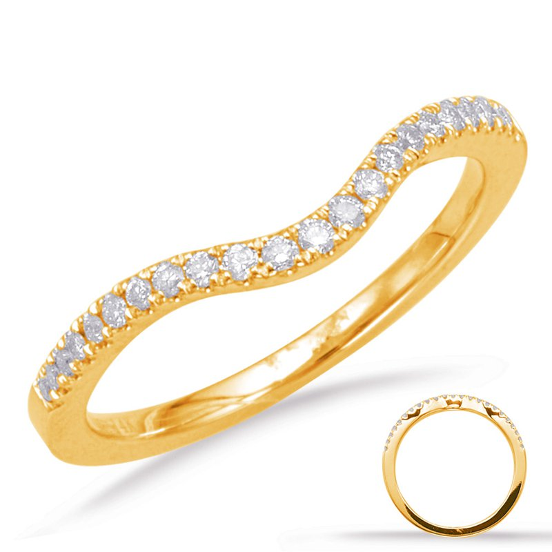 S. Kashi  & Sons Yellow Gold Matching Band