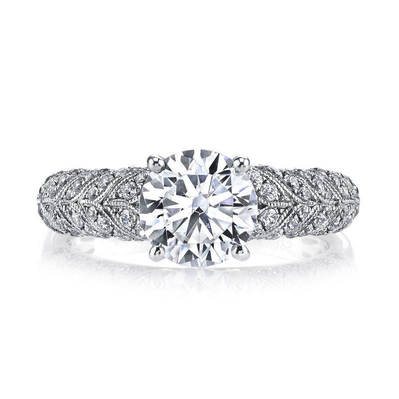 MARS Jewelry Diamond Engagement Ring, 0.31 ct tw