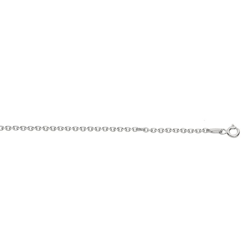 Royal Chain Silver 2.2mm Diamond Cut Cable Chain