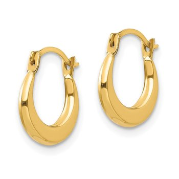 14k Madi K Small Hoop Earrings