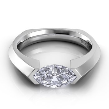 Voltaggio Euro Shank Engagement Ring