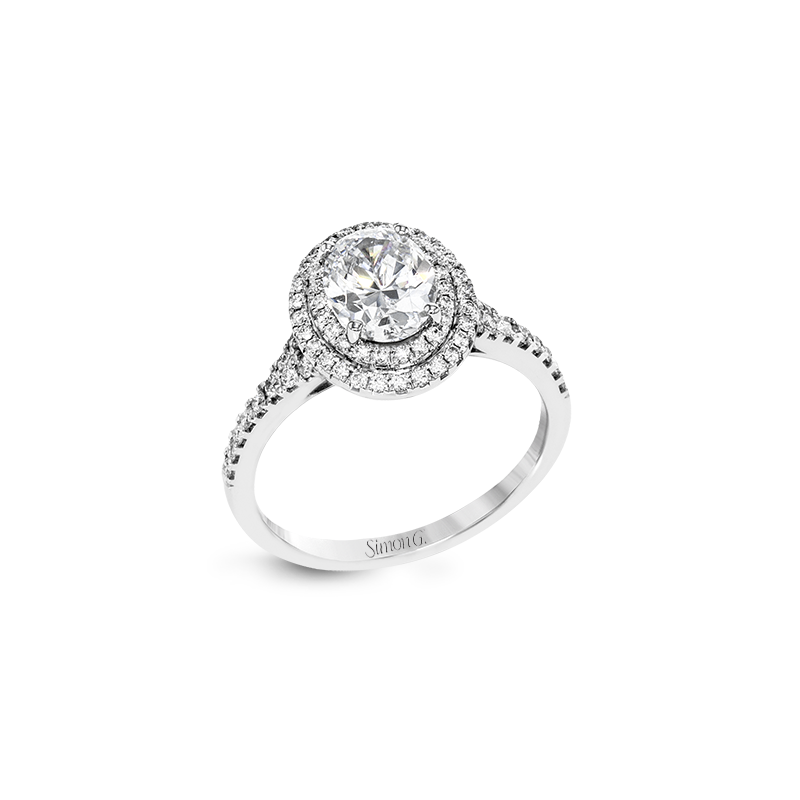 Simon G MR2884 ENGAGEMENT RING