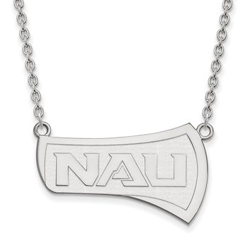 Gold Northern Arizona University NCAA Necklace