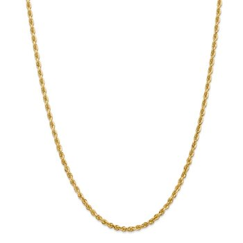 14k 3.35mm D/C Quadruple Rope Chain
