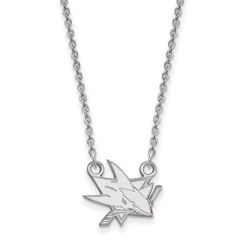 Gold San Jose Sharks NHL Necklace