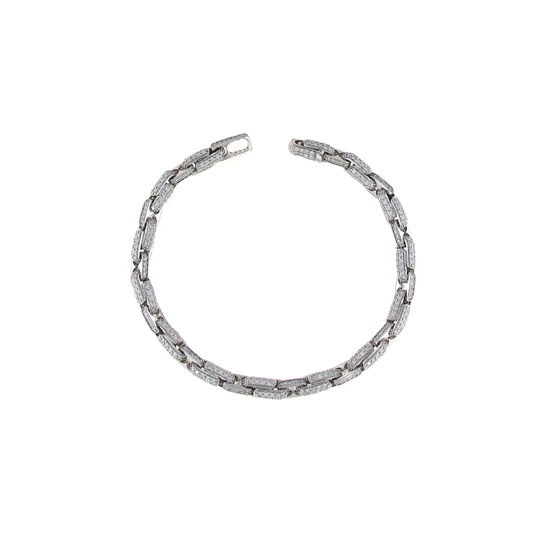 Roberto Coin 18Kt Gold Bracelet With Diamonds