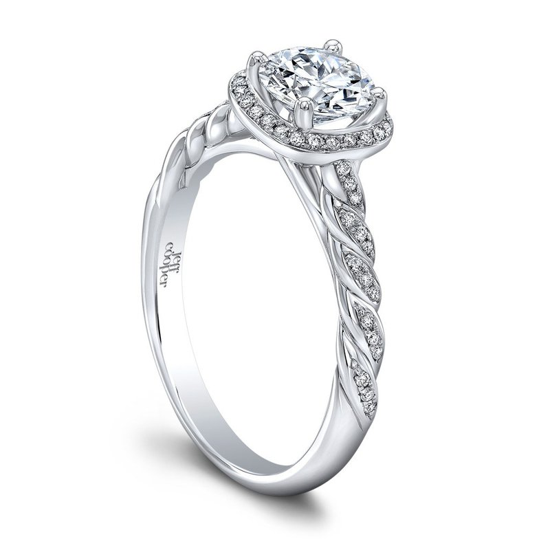 Jeff Cooper Lisa Engagement Ring