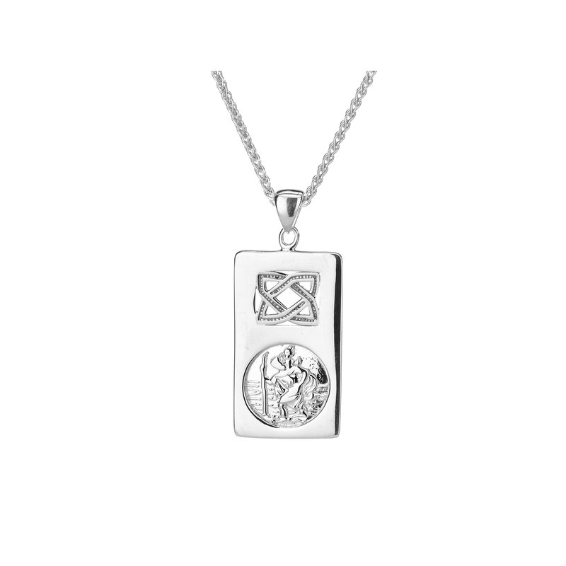 Keith Jack St. Christopher Pendant