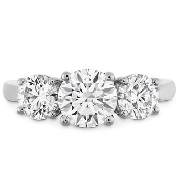 1.2 ctw. Simply Bridal Three Stone Semi-Mount