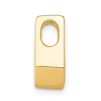 14k AA 4.5mm Diamond Slide
