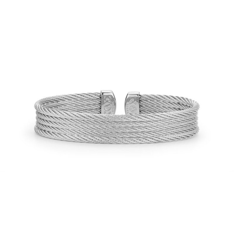 ALOR Grey Cable Mini Cuff