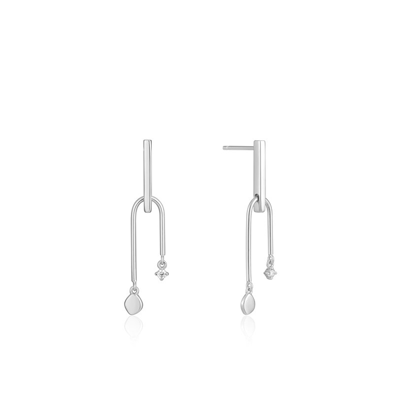 Ania Haie Double Drop Stud Earrings