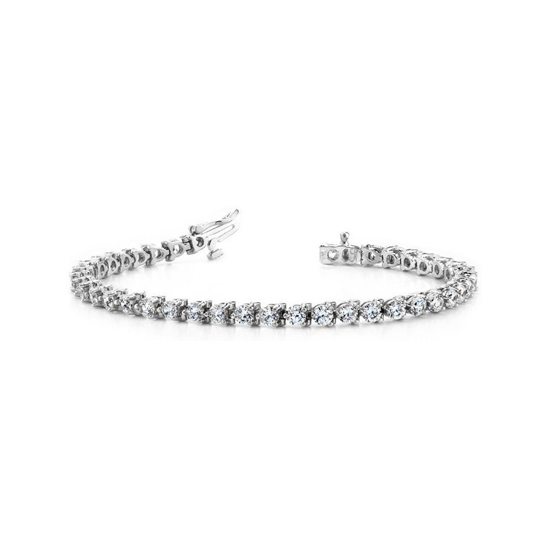 Briana Three Prong Tennis Bracelet